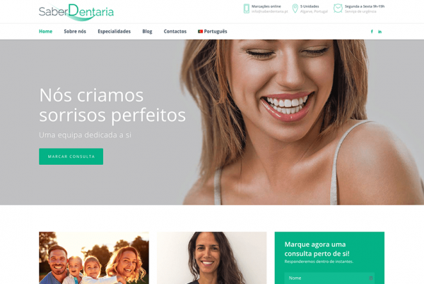 websites para dentistas